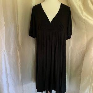 Gap Black Pleated Dress-Worn Once